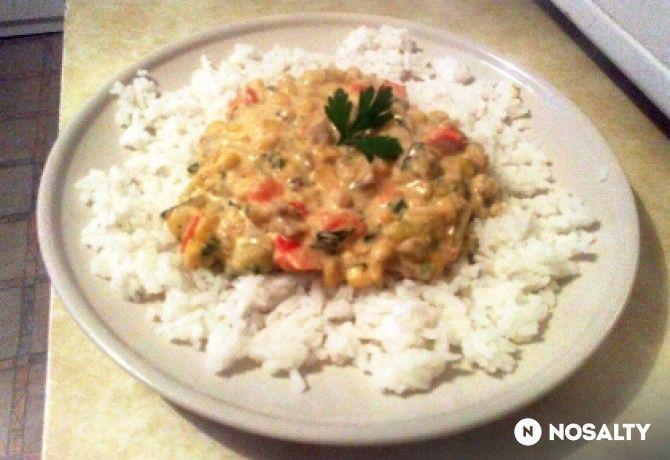Zöldséges tokány Rara konyhájából