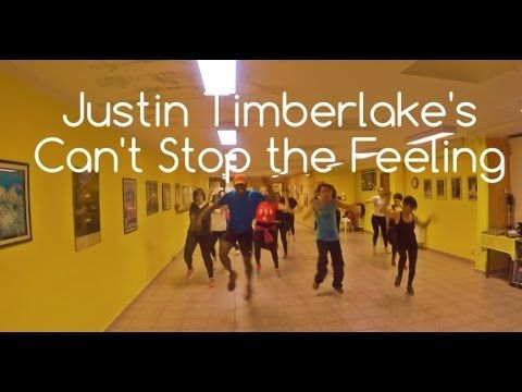 CAN'T STOP THE FEELING! Justin Timberlake - Zumba choreography by Kelly ...