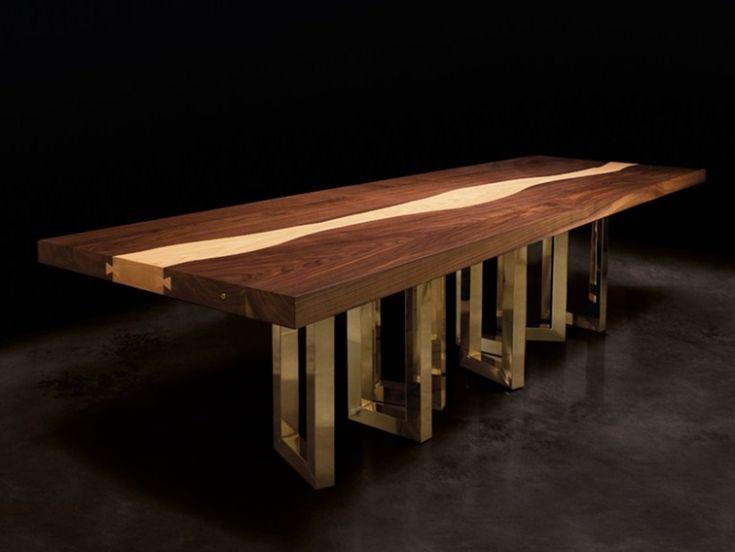 Schreibtischplatte massivholz  Die besten 25+ Massivholz tischplatte Ideen auf Pinterest ...