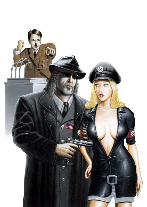 Hey, I found this really awesome Etsy listing at https://www.etsy.com/listing/129624051/sexy-pinup-girl-original-artwork-hitler