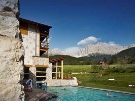Berghotel & Wanderhotel in Südtirol Cyprianerhof in Tiers Dolomiten Rosengarten