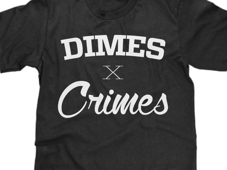 Dimes and Crimes, it's what every young thug and gangster can't stop talking about it. Don't talk about it, be about it. Rock this and rock the bitches, freak the hoes.   All shirts are made to order, and we strictly use high end garments. The sizing is on par with a shirt you can buy from any...