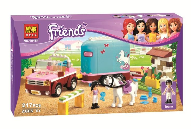 >> Click to Buy << Hot Amigos ninas BELA 10161 Heartlake aeroclub Emma de remolque de caballos Andrea Olivia Mia Blocks  Toy ladrillos #Affiliate