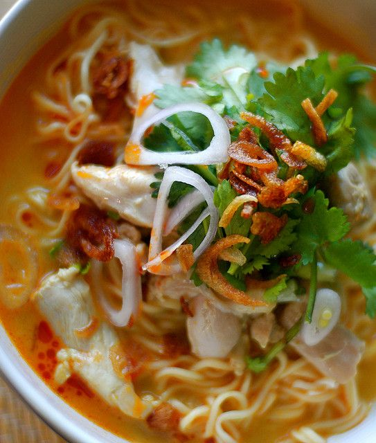 Khao Soi, Chiang Mai Chicken noodles | Scrumptious and Refreshing | P ...