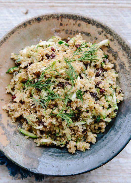 Recipe: Lemon Quinoa with Currants, Dill, and Zucchini