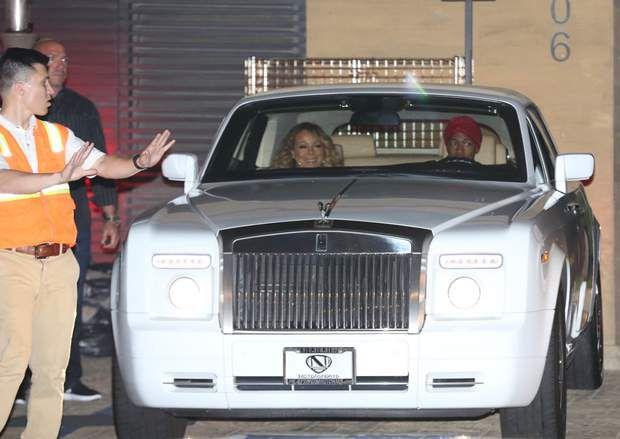 Mariah Carey et son ex-mari,Nick Cannon, se retrouvent pour un dîner à Malibu Mariah Carey enjoys cosy dinner with ex-husband Nick Cannon. 21 Apr 2017 Pictured: Mariah Carey