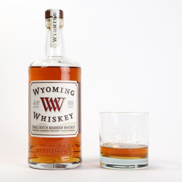 Wyoming Whiskey.  Small-batch bourbon whiskey, with all ingredients sourced within 100 miles of the distillery.