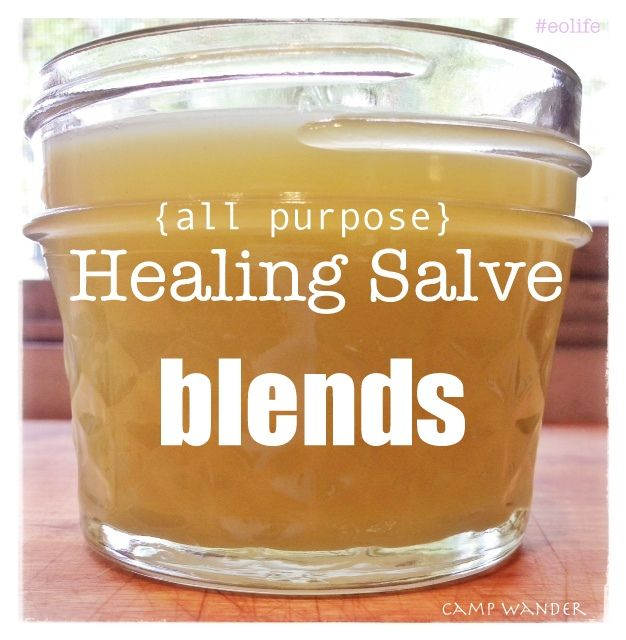 3 All~Purpose Healing Salve Blends (Anti-Aging, Lemon Lavender and Peppermint Allergy Blend, and an Aches & Pain Blend)