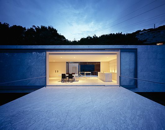 Minimalist Contemporary Plus House in Japan by Mount Fuji Architects Studio
