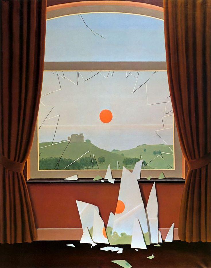 René Magritte – Evening Falls