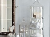 Set of 9 Apothecary Jars - eclectic - bathroom storage - - by Burke Decor