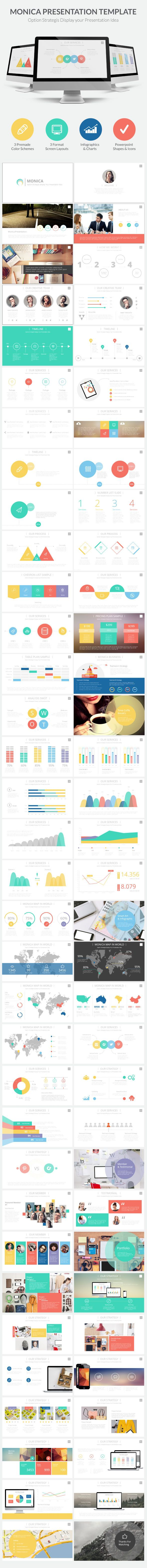 Monica Presentation Template (PowerPoint Templates)