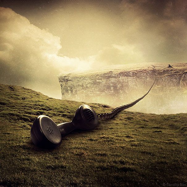 21 New Photo Manipulations by Sarolta Ban | Bored Panda