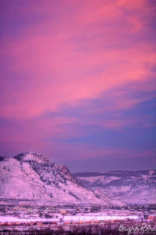 Sunset Photography | Kamloops, BC | Pink Sky