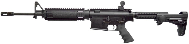 ArmaLite reintroducing the AR-10 LE Carbine: ArmaLite, Inc. is updating their standard-bearing AR-10 Law Enforcement Carbine with a new set of sights. Previously, the AR-10 LE used a standard A2 front sight which did not align exactly with the A4-style flattop upper receiver of the AR-10. This limited the end user's options when it came to installing rear back up irons. This small change makes the rifle compatible with all aftermarket rear sights.