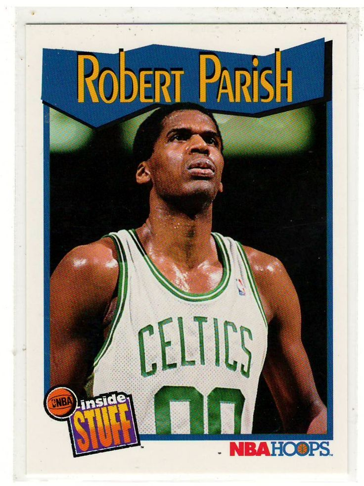 Sports Cards Basketball - 1991 NBA Hoops (Inside Stuff) Robert Parish