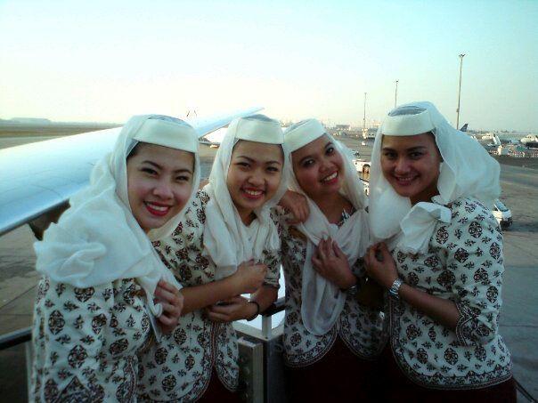 Pramugari Royal Brunei