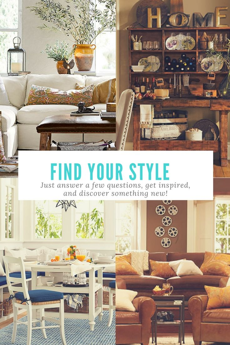 What S Your Decorating Style Take The Pottery Barn Quiz And See Which Gorgeous Was Made For You I Am Urban Chic