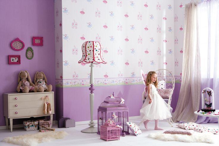 Selbstklebende Tapete Lila : zu ?Kindertapeten auf Pinterest Tapeten, Tapete und Esprit Home