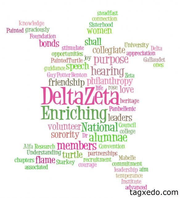 The Words of Delta Zeta