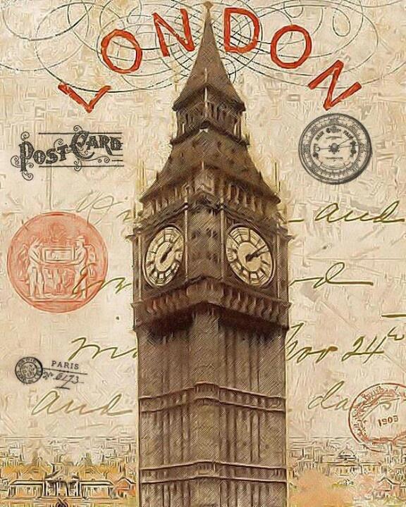 Старинные открытки с изображением городов