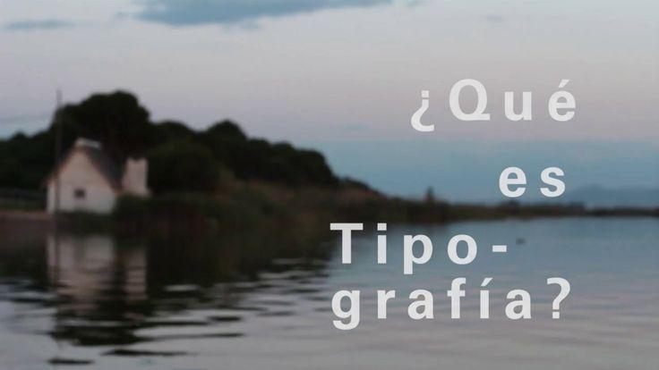 ¿Qué es tipografía? #Qestypo. Pequeño documental en el que pretendo mostrar que es la tipografía. Esta disciplina tan poco conocida y que co...