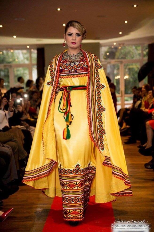 Alger fashion Week #robe- kabyle                                                                                                                                                                                 Plus