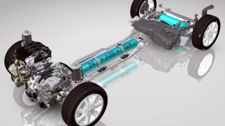psa peugeot citroën hybrid air concept -progettando la mia auto..