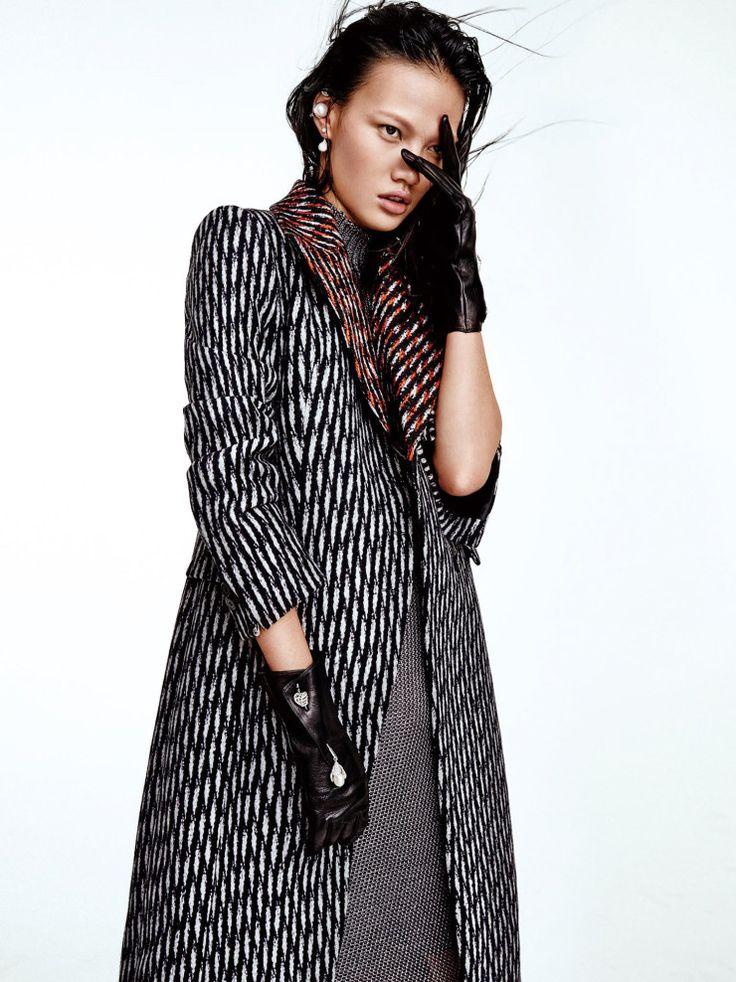 Tweed Attitude   Vogue China November 2015 Model: Meng Zheng Photographer: Yu Cong
