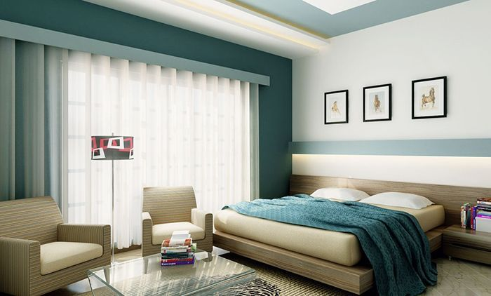 Bedroom Paint Color Schemes And Design Ideas Dream Bedrooms Teal Bedroom Designs Feature Wall Bedroom Bedroom Wall Colors