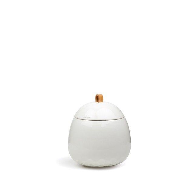 Mellibi Storage Jar White Large