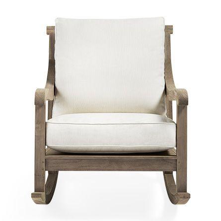 Shop the Hamptons Outdoor Rocking Chair at Arhaus.