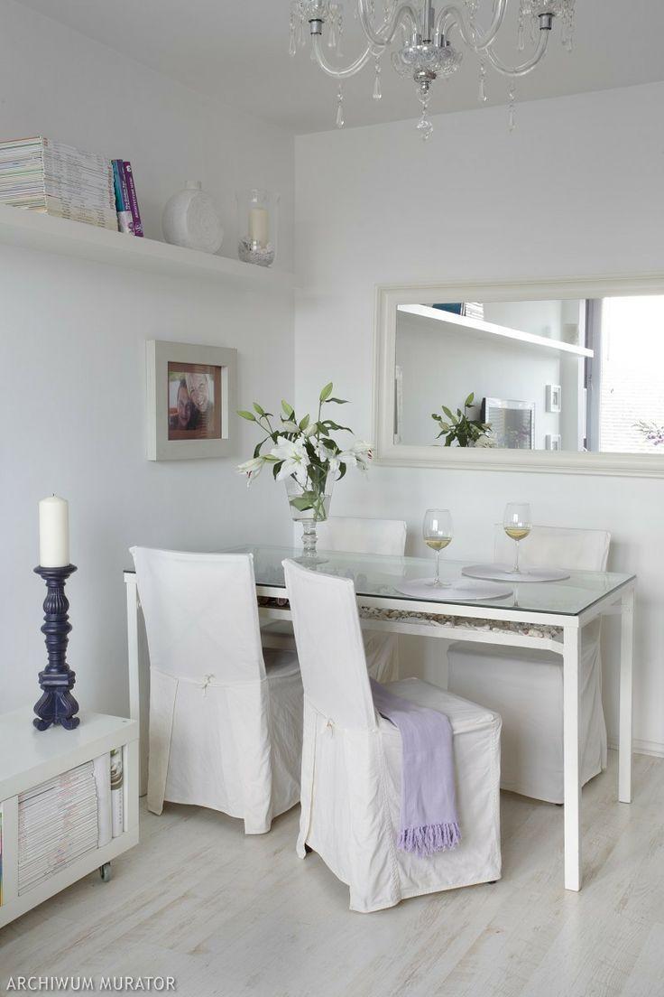 Białe wnętrza: 10 inspiracji na wystrój wnętrz w bieli - wystrój wnętrz - -Urzadzamy.pl