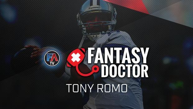 Video: The Fantasy Doctor - Tony Romo - Fantasy Alarm TV