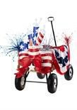 fourth of july stroller decorations