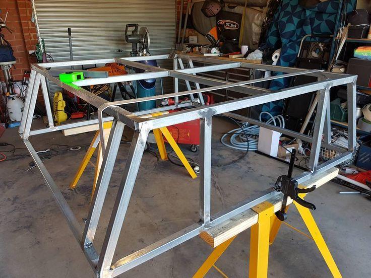 Building a canopy for our truck #4wd #micksgonebush #4x4 #Adventure #Australia #Travel #4wd #micksgonebush