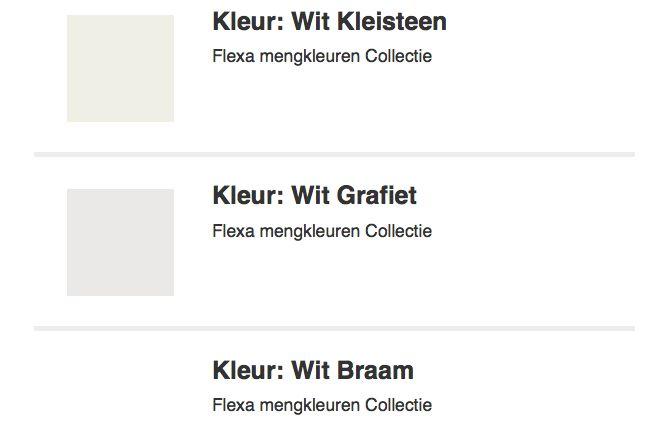 Woonkamer kleuren - lichtgrijs/wit tinten  Woning  Pinterest