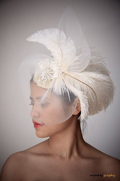 25 Best Ideas About Vintage Wedding Hats On Pinterest