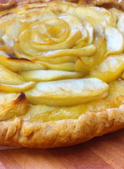 Torta meraviglia di mele con ricotta speziata