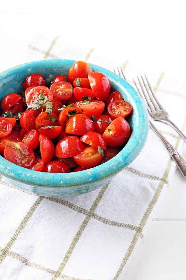 Tomato Basil Picnic Salad