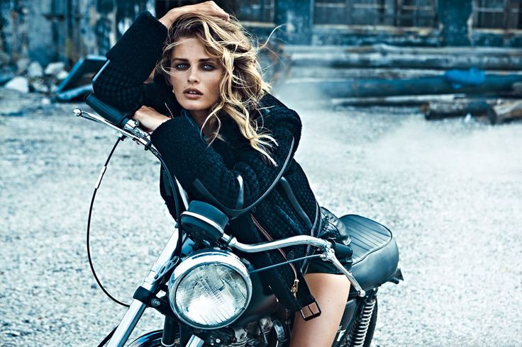 This fierce, sexy aesthetic shows no signs of slowing down. Biker chic is here to stay.