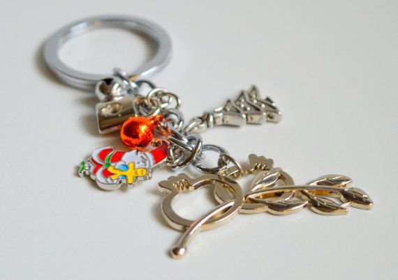 An impressive 2015 Good Luck #Key Chain to put your  home or #car #keys . Another idea is to decorate your home and bring good luck to your #house and your family. Use this b... #keychain #brelock #holder #holidays #christmas #ornament #decoration