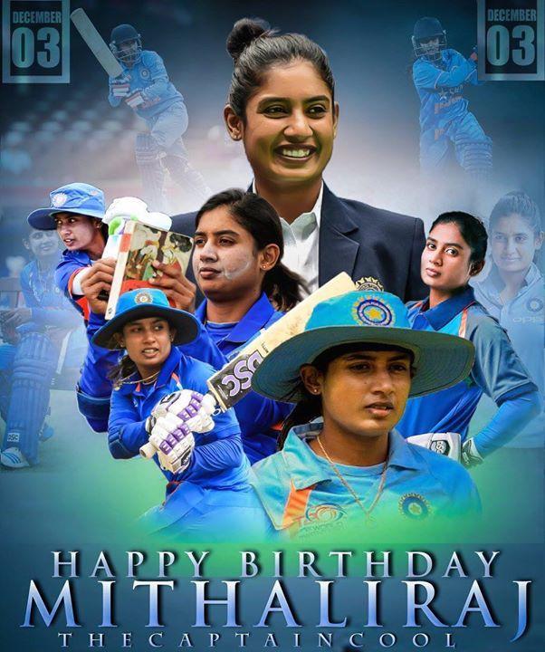 Happy Birthday Mithali Raj - http://ift.tt/1ZZ3e4d
