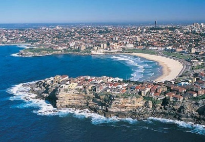 Bondi Beach, Sydney. This was such a beautiful place, I want to go back!
