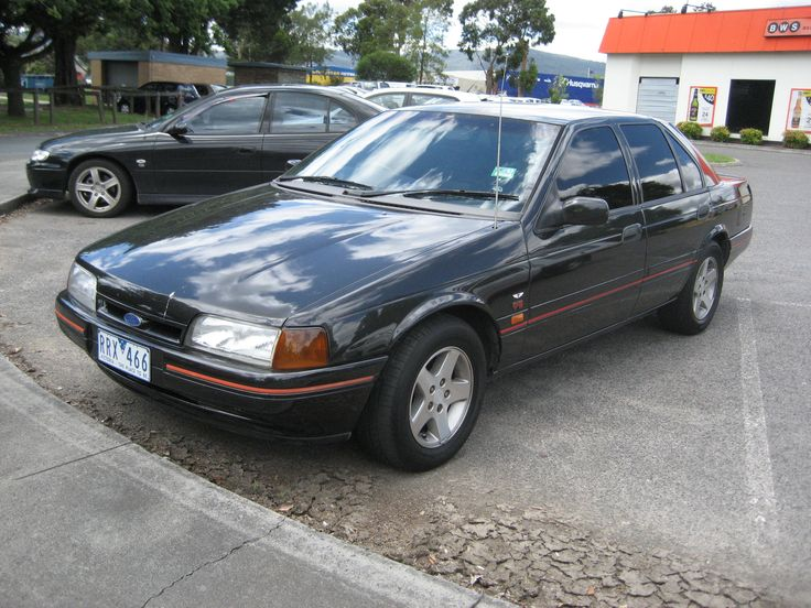 1991 EB Falcon S XR8. This model was the first Falcon with a V8 since the XE in 1982. This time it was the 302 (4.9l, known as the 5.0l) Windsor type engine instead of the larger Cleveland type that ended production with the XE Falcon model.