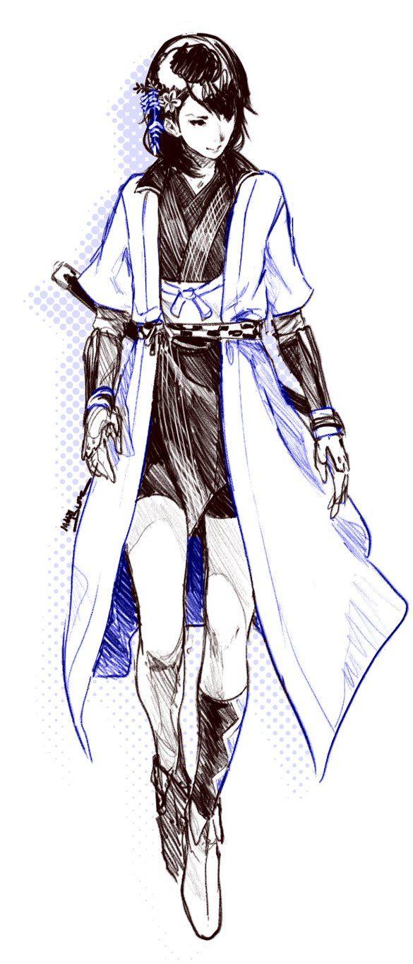Okatsu Sketch by MadiBlitz