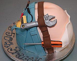 18 Best Construction Builder Cakes Images On Pinterest