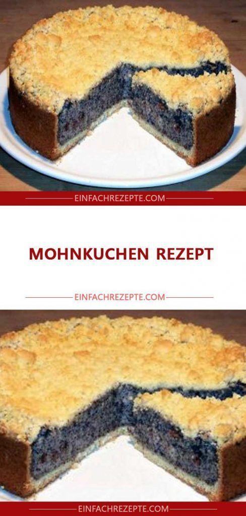 Mohnkuchen Rezept 😍 😍 😍