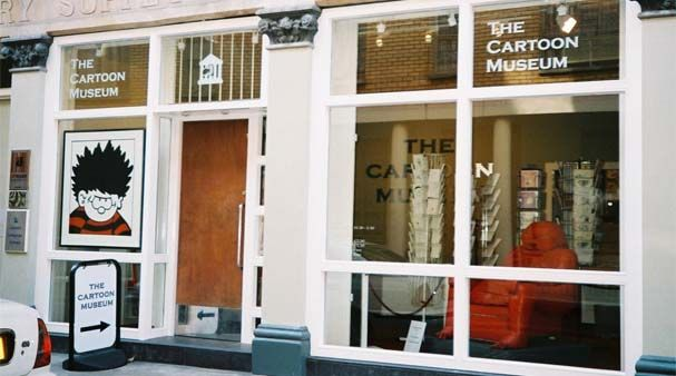 The Cartoon Museum - Free entry with The London Pass
