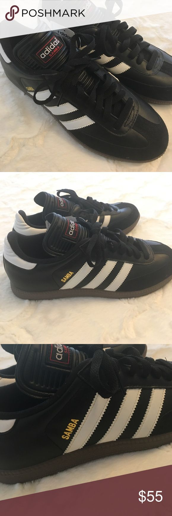NWT original Adidas Samba Classic Sneakers men's 7 These are the original Samba Classics from Adidas.  Brand new with tags. Men's US size 7. Adidas Shoes Sneakers
